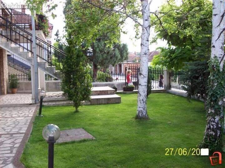 Big house, beautiful courtyard and terrace view