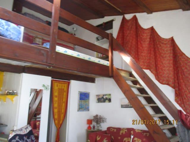 Ile de Ré logement avec mezzanine 2 pers - Saint-Clément-des-Baleines - Casa