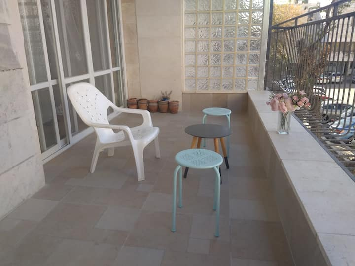 Short Term Rental in Central Katamon (2 bedrooms)