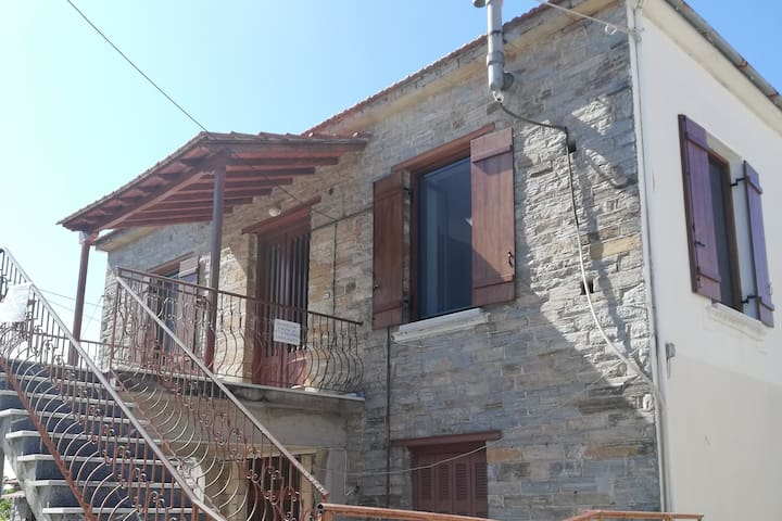 Kwstantina traditional house with an amazing view