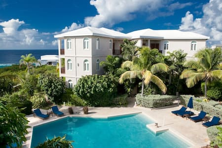 Fountain Ocean View 1 Bedroom Penthouse - Shoal Bay - Társasház