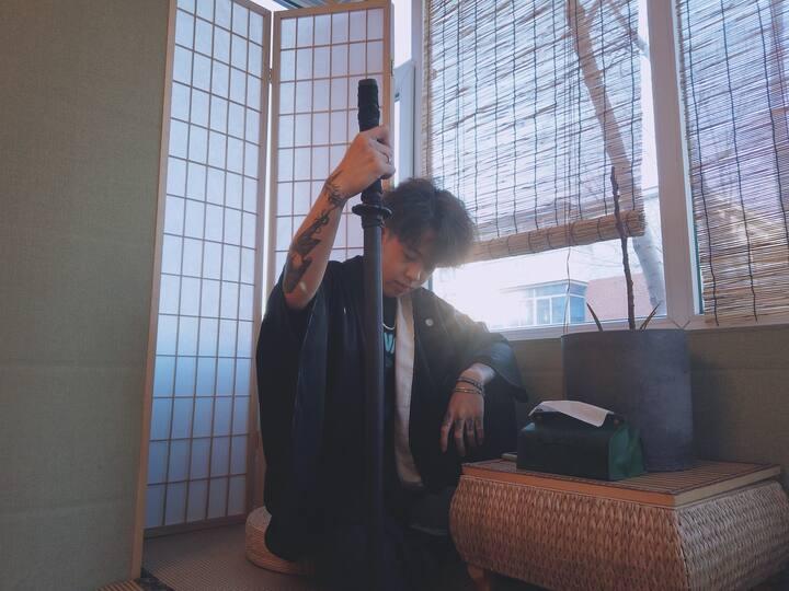 【牡丹街原住民】桂林路一室一厅日式小清新民宿,近吉林艺术学院。