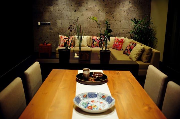Oriental x Japanese style Residence - South Kuta - Huis
