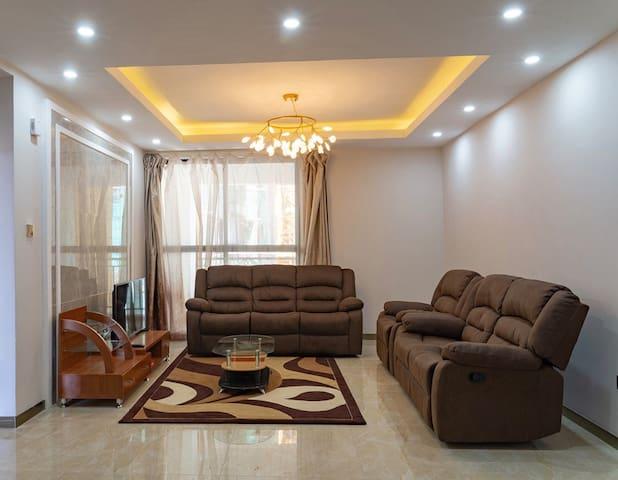 Elegant 1 bedroom apt near Yaya center in Kilimani