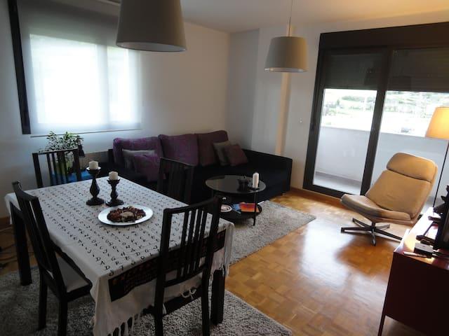 Breakfast/Baño privado/Habitación con mucha luz - San Mames - Huis