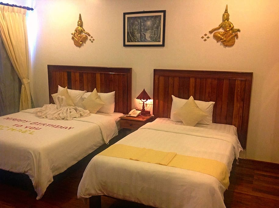 Deluxe Room at Asanak