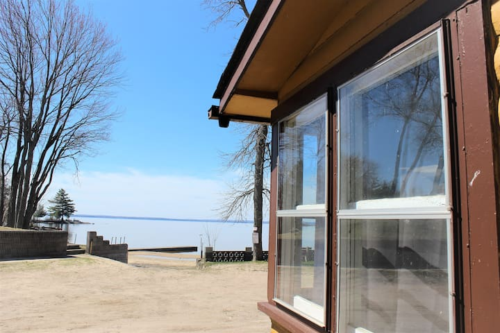 Lake view from cottage
