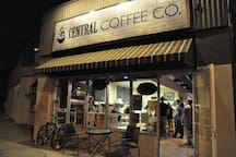 Rent a scooter or bike to Central Coffee Co. on Central Ave
