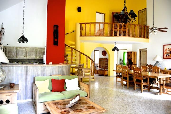 Amazing villa in beach residence ! - Cabarete - Rumah