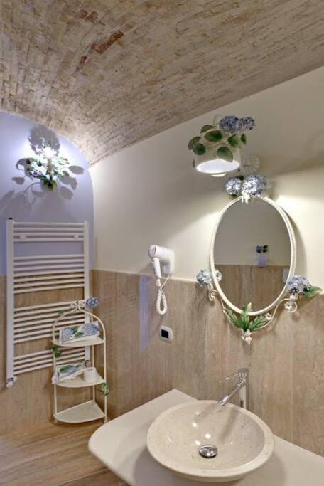 Ogni camera dispone di un bagno privato