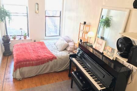 Quiet, Comfortable Studio in Chelsea/Village - 纽约 - 公寓