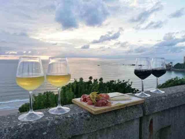 Les bars avec vue de Biarritz à 15 min en voiture