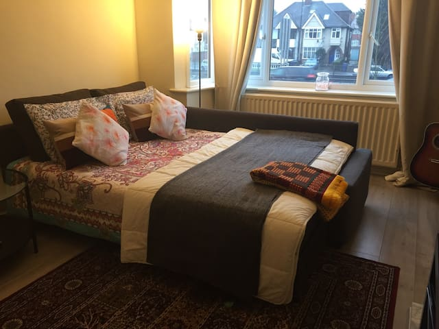 Luxury Value King size room next to central London