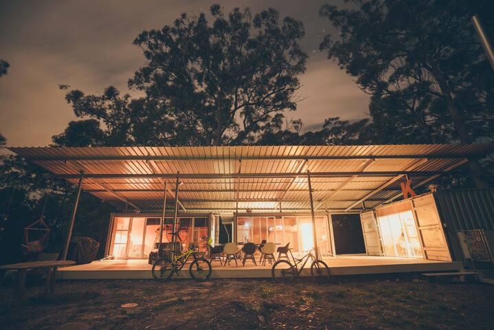 Forest mountain biking and bushwalking retreat
