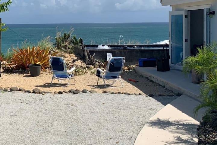 Luxury Beachfront Villa Retreat with Private Pool