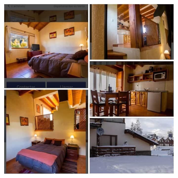 Cabaña para 4 personas en Villa Catedral Bariloche