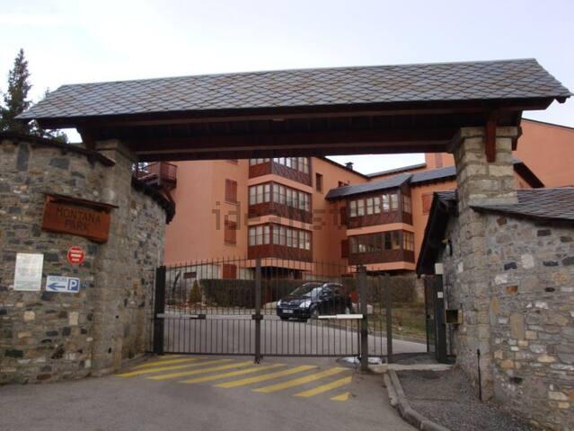 Apartamento cerca de pistas de ski - Bourg-Madame - Lägenhet