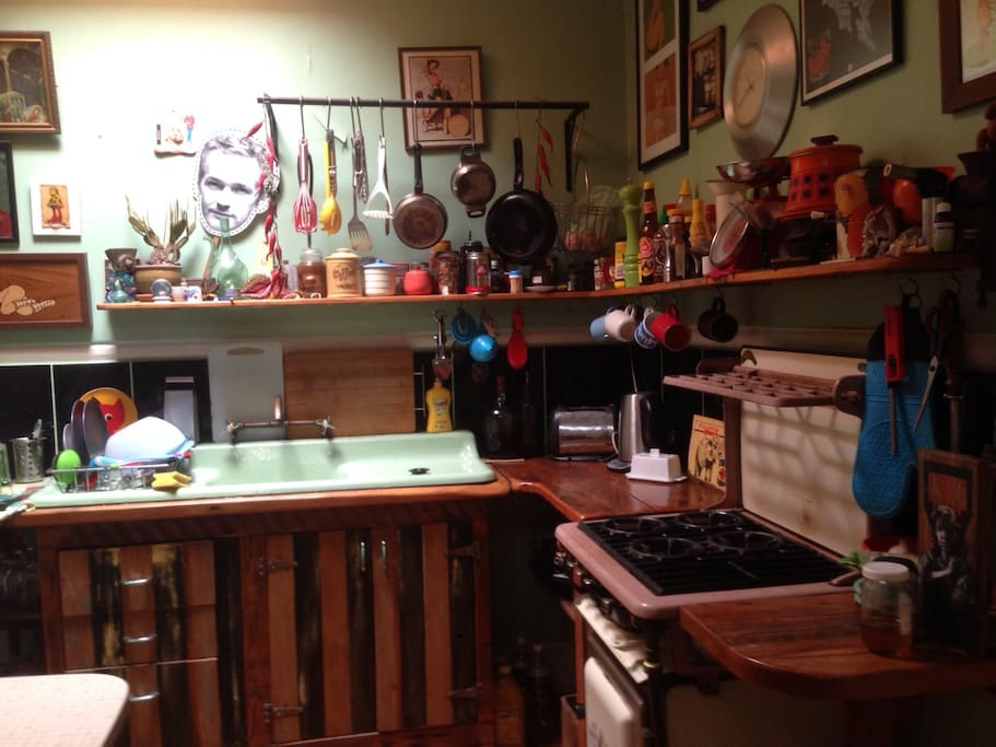 Original 50's kitchen