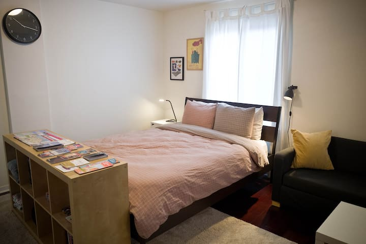 Modern & Convenient Studio - Walk to BART & Muni