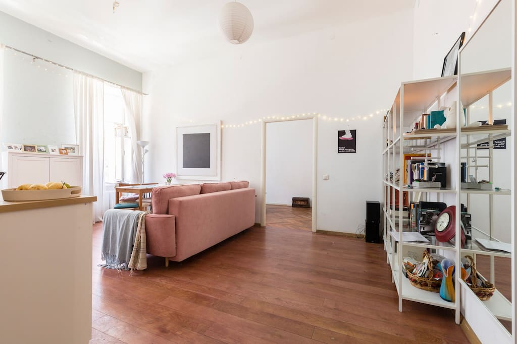 Living room + Kitchen (Гостиная + Кухня)