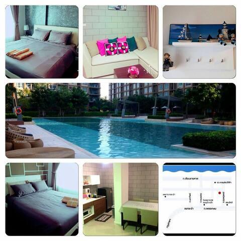Seaview two-bedroom condomenium - Cha-am - Lägenhet