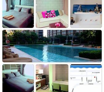 Seaview two-bedroom condomenium - Cha-am - Wohnung