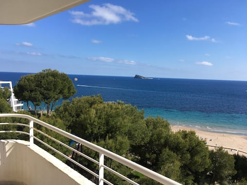 Apartamento 1ª linea de playa con vistas