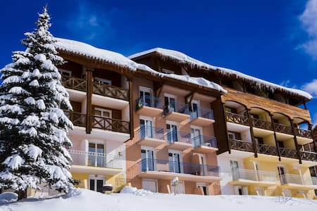 Studio direct sur piste, 4 Pers - Allos - Daire