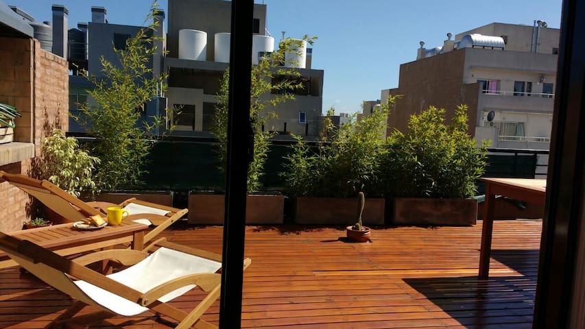Flat on the top floor with private terrace - Buenos Aires - Apartment