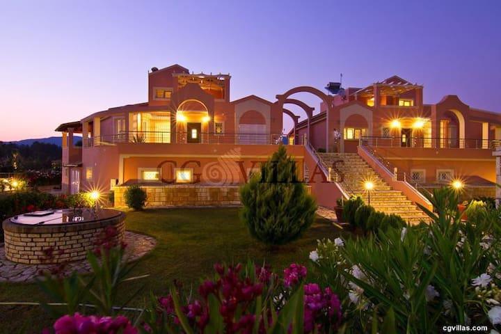 Villa Rosa 1 - コルフ島 - 別荘