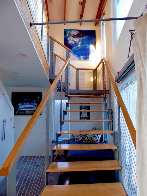Stairs to the 3rd floor Bedroom
