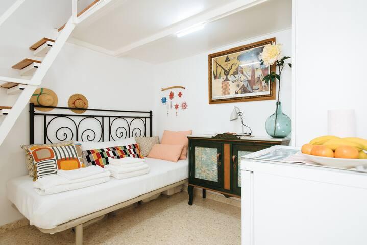 Room con Baño privado en el Centro