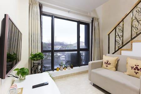 西溪且留下,近灵隐和宋城,浪漫简欧复式双层LOFT一室一厅 - Hangzhou - Appartement
