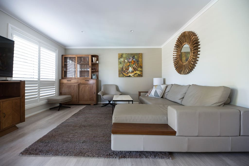 Open spacious lounge
