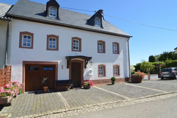 Authentic holiday home in natural beauty near Luxembourg, Bitburg and Trier
