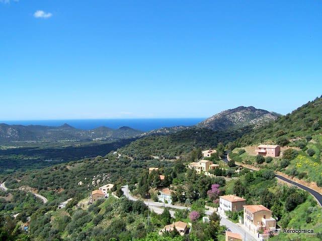 Duplex apartment in Balagne (Corsica)