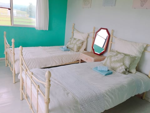 Cozy & Peaceful Home stay~Twin bed room~