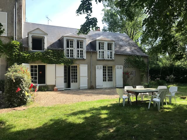 Charming house part of Loire Valley castle