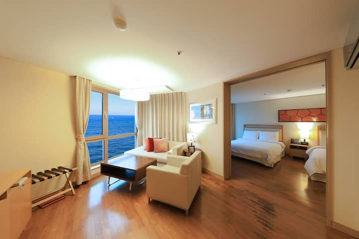 ♡1BR, 10min from Jeju Airport - Double1 Single1 ♡