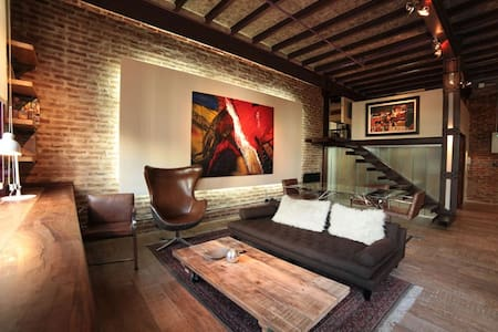 Loft with swimming-pool + garden + restaurant/bar - Buenos Aires