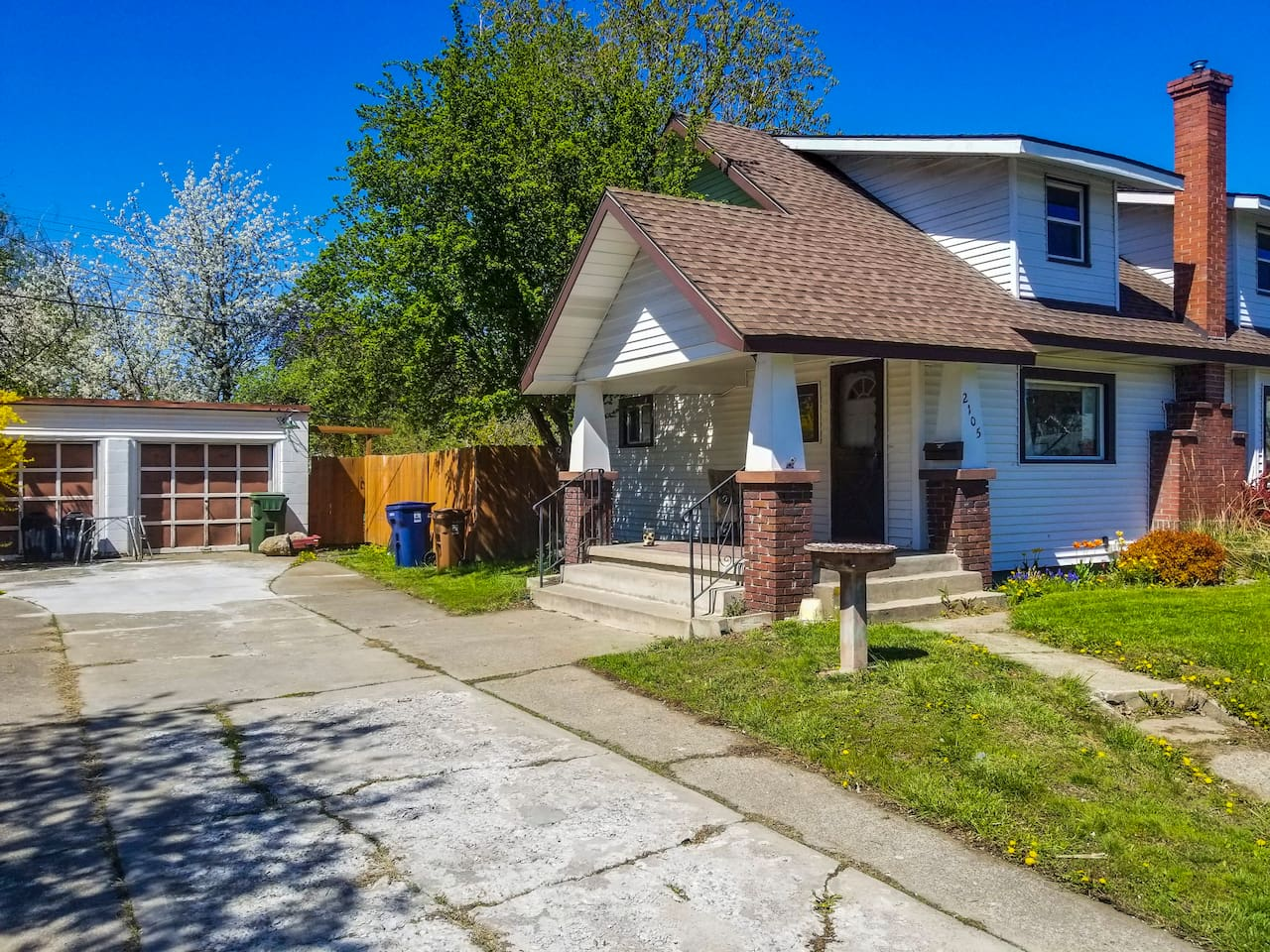 Nice home in a good neighborhood with ample parking.