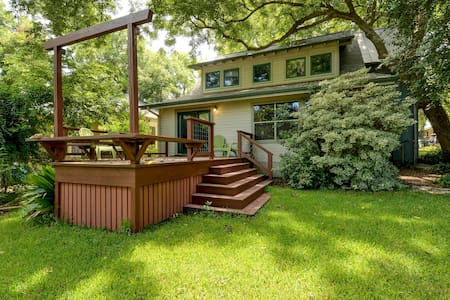 Wooded Retreat Off South Congress - Austin - House