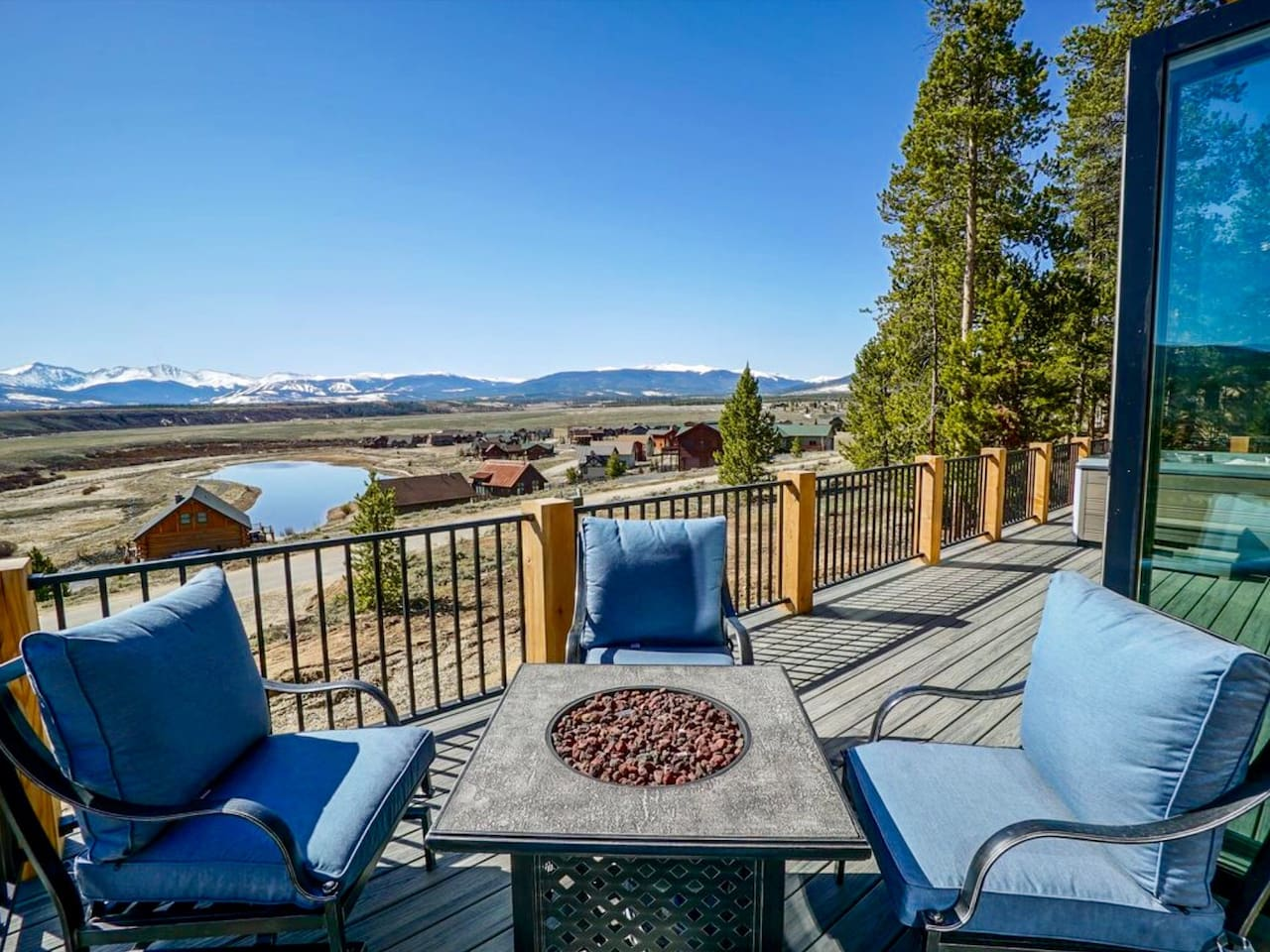 Your own resort in every season to take in the Heavenly Views overlooking the Lake and Winter Park Resort