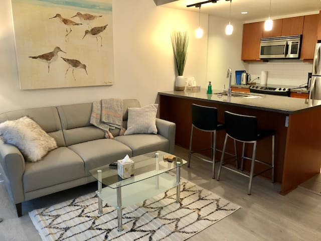 This is it !  Central, cozy & chic condo