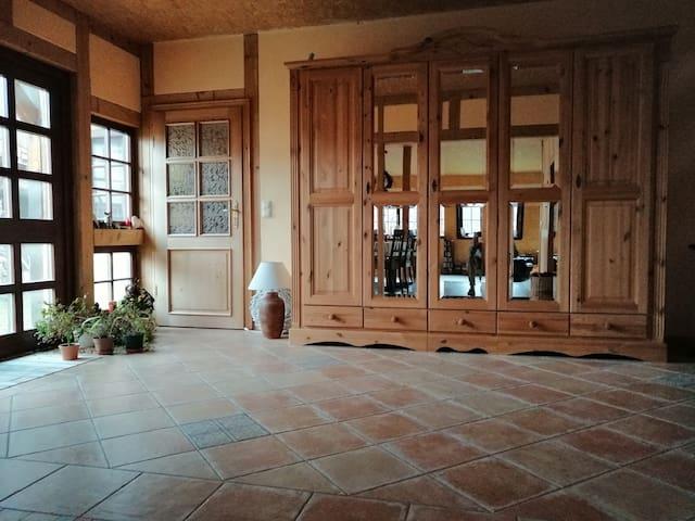 Landhauswohnung im ausgebauten Fachwerkhaus