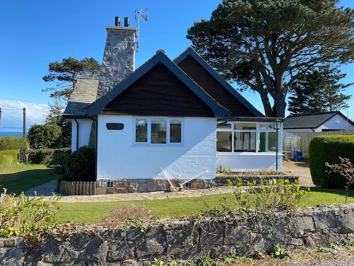 3 Bed Abersoch Sea View Cottage near town & beach