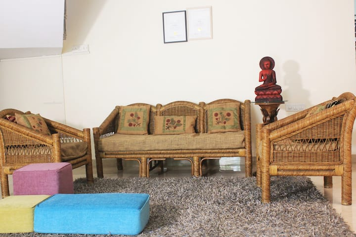 Serene Bungalow in the Heart of Magarpatta City