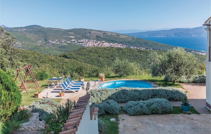 Stunning home in Labin with WiFi and 2 Bedrooms