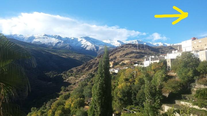 La Flecha Haus mit Nähe und  Ausblick zur Sierra