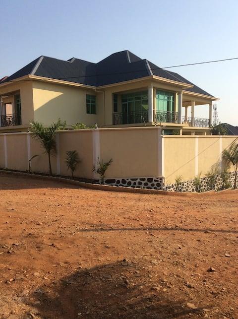 Villa with an amazing view atop of Bujumbura City